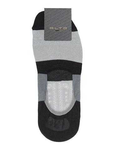 Alto Socks Alto Socks  Colorblocked Erkek Çorap 101643927 Gri